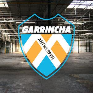 GARRINCHA logo blikfabriek