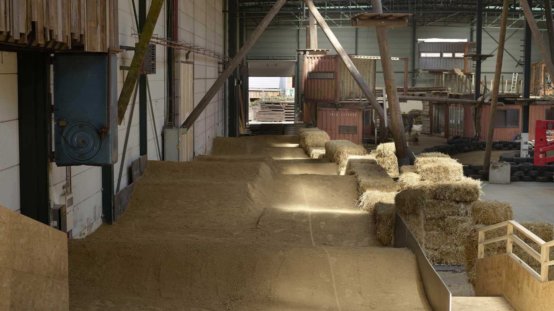 BMX parcours in de Blikfabriek