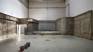 de studio in de Blikfabriek