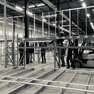 Maakfabriek opbouw