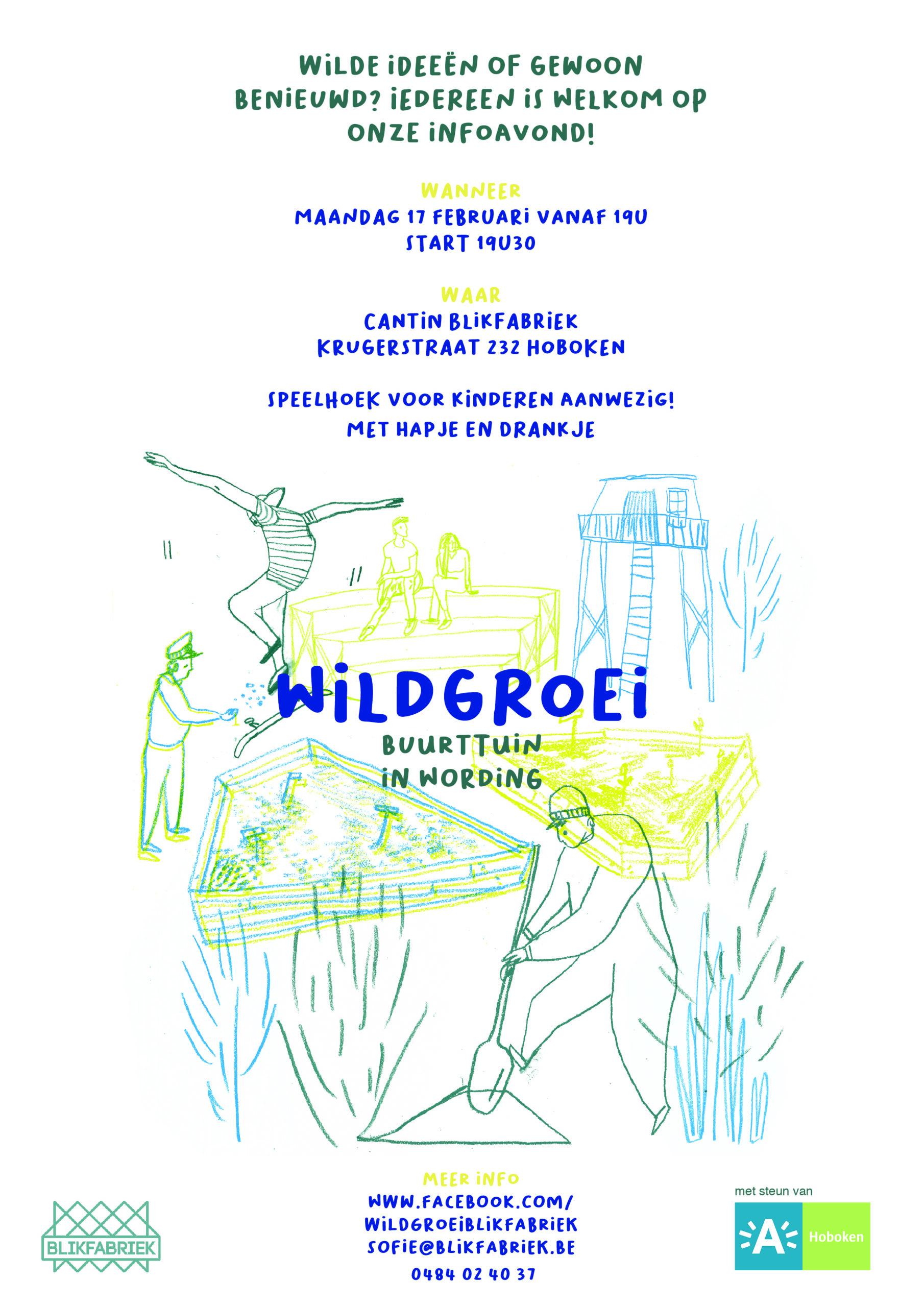 Blikfabriek Wildgroei affiche